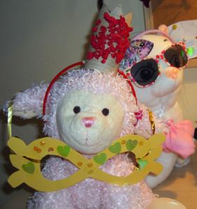 karnevalove masky, pavucie siete