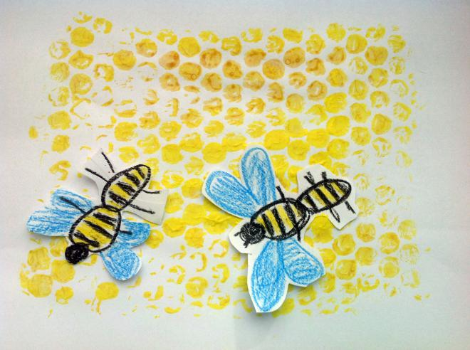 Bublinková fólia – Včely v úli
