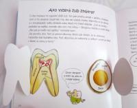 Moje zúbky, knižka o zuboch pre deti