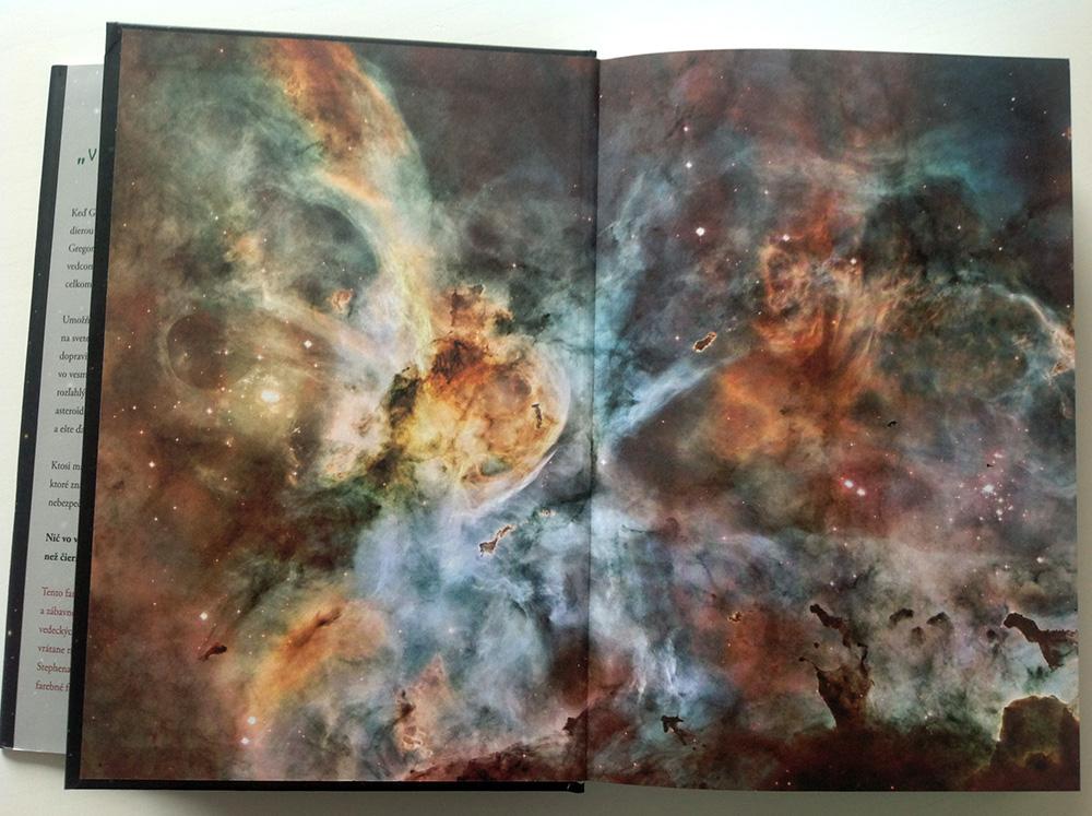 Kniha o vesmíre pre deti
