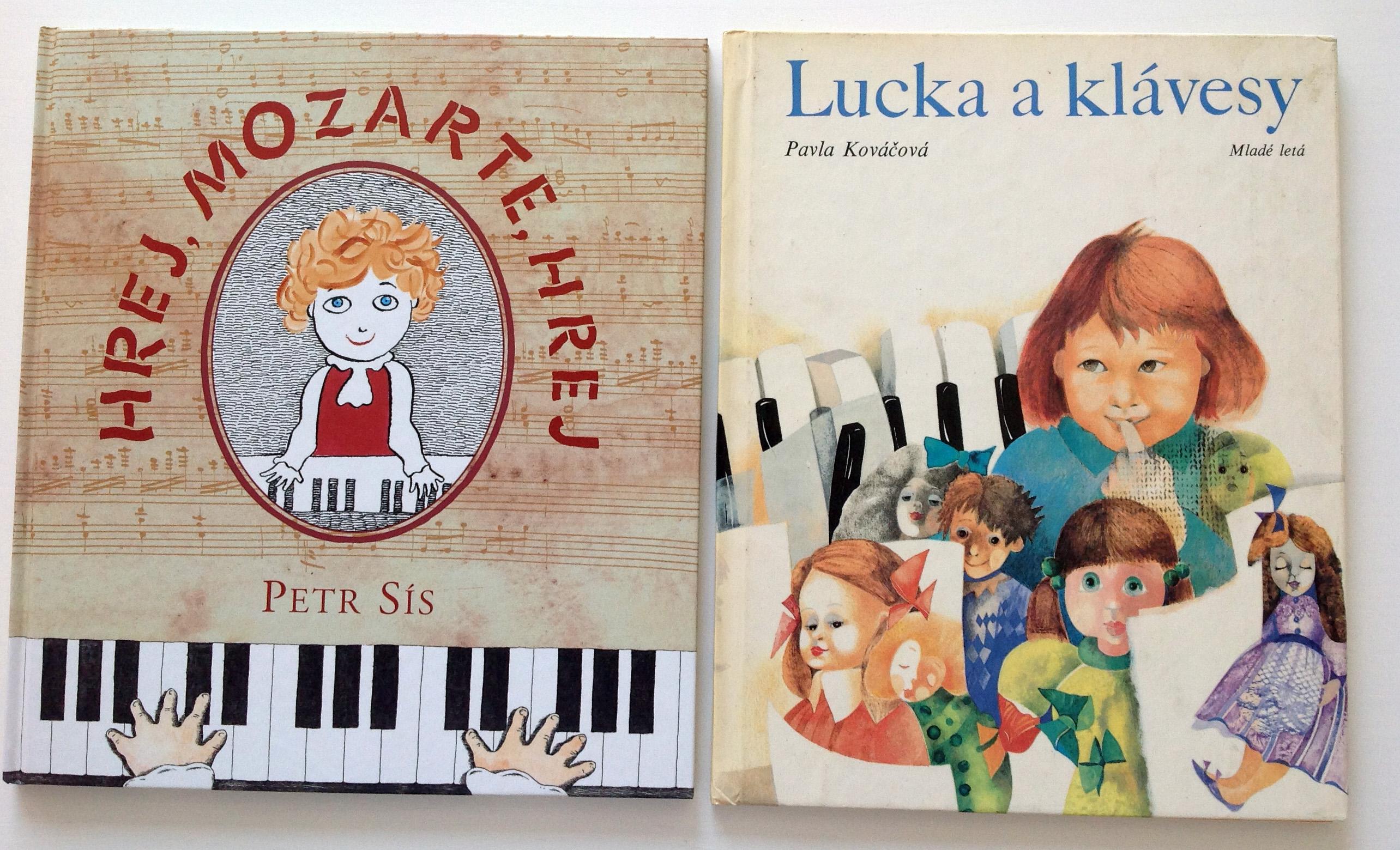 Hrej , Mozarte, hrej - Petr Sís - knižka pre malých klavíristov - hudobné aktivity pre deti, montessori hudobné aktivity, hudobné hry pre deti