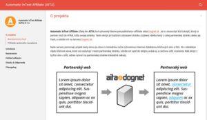 Affilate margeting - Dognet, nástroj Aita pre affiliate publisherov