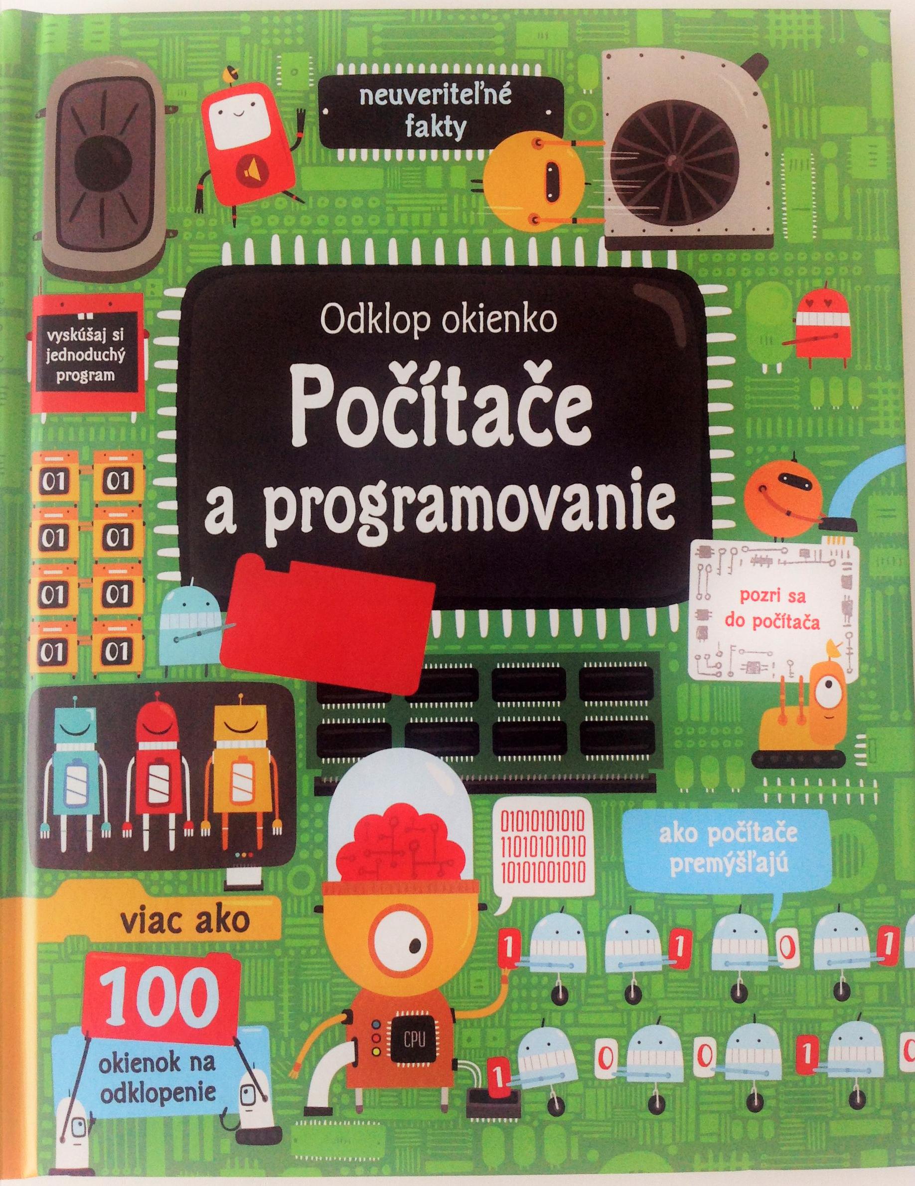 Počítače a programovanie - okienková knižka pre deti 6-10 rokov z vydavateľstva Svojtka