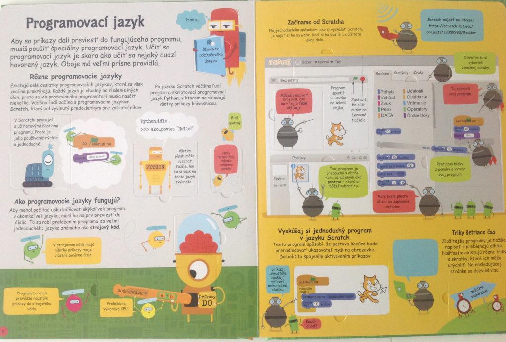 Programovanie pre deti, kurzy, knižky