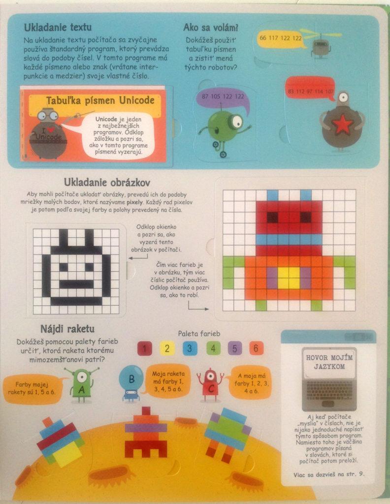 detské knižky 6-10 rokov, Programovanie a počítače, okienková knižka