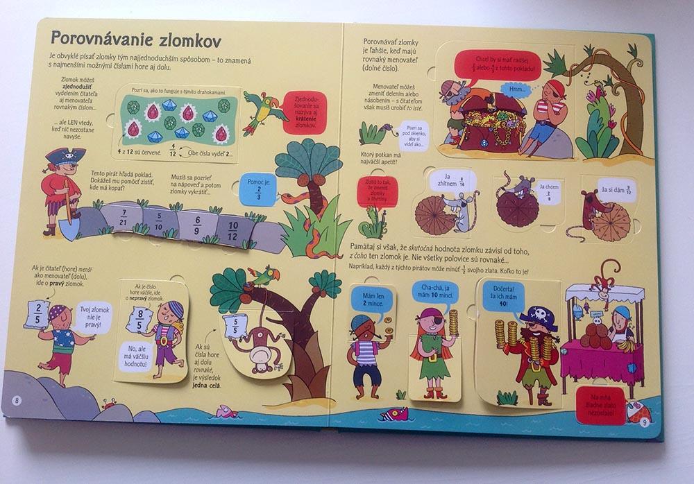 Zlomky a delenie - recenzia knihy pre deti