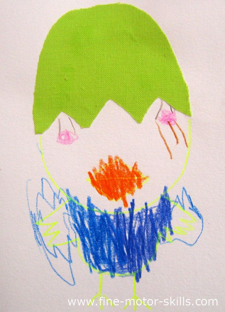Veľkonočné pohľadnice - výtvarné aktivity s deťmi