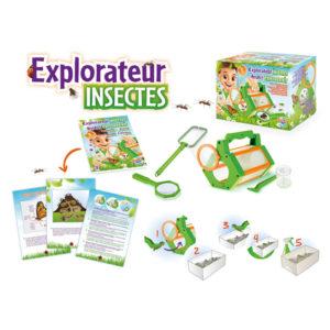 sada na odchyt a pozorovanie chrobacikov, experimenty pre deti, aktivity v prirode pre deti