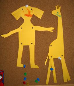 Scrapbookova svorka -vyuzitie na pohyblivú bábiku a slovné vejáre