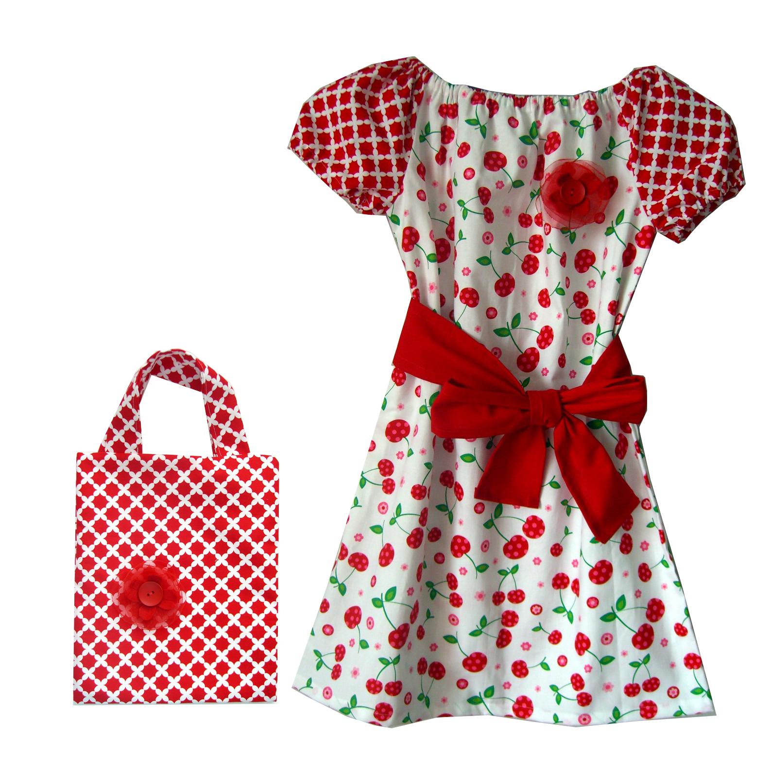 Letné dievčenské šaty