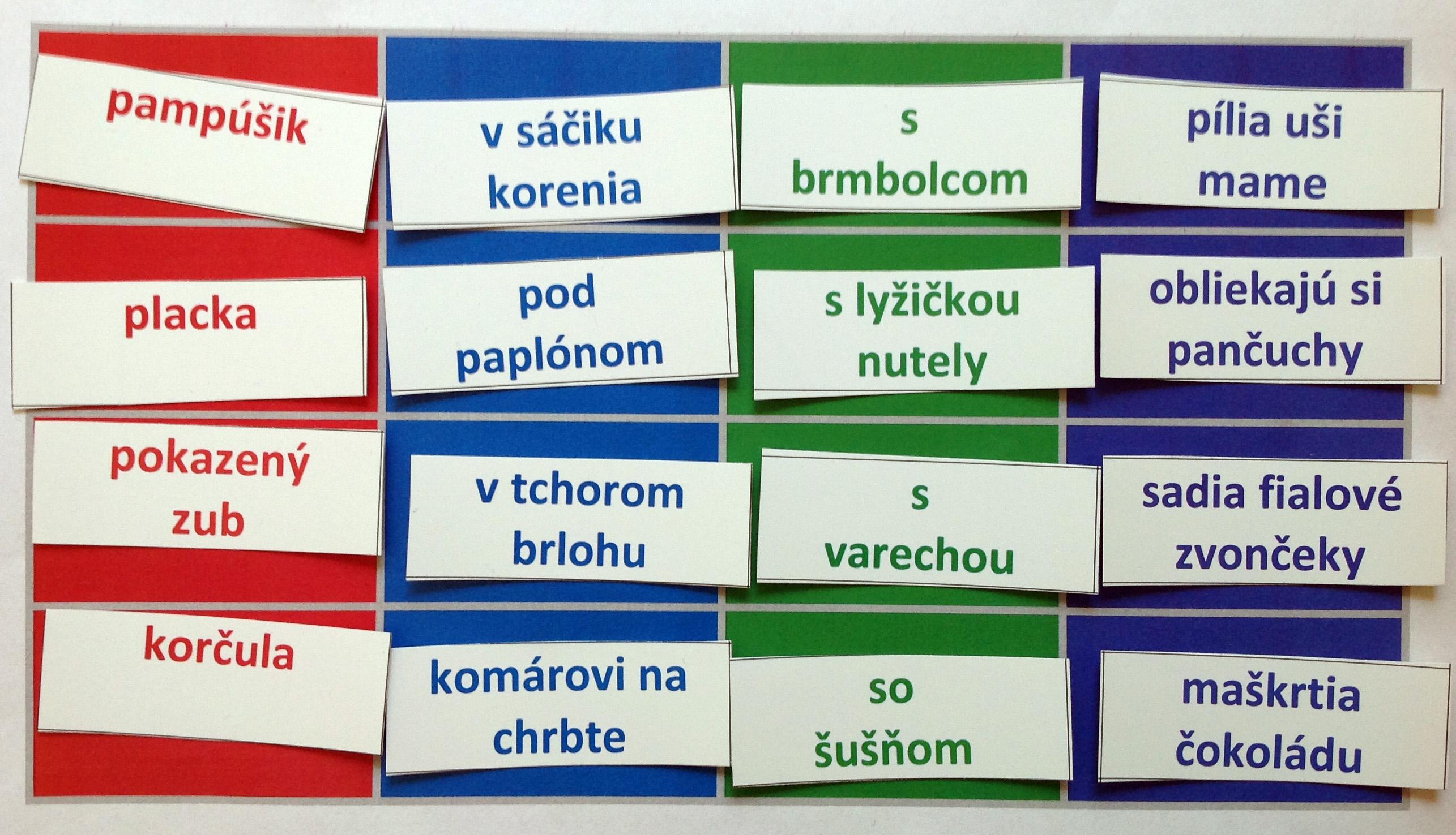 Slovné hry pre deti