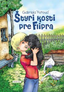 Gabriela Futová - Styri kosti pre Flipra - recenzia - knizky o psoch, kniha o psikoch, knihy pre deti