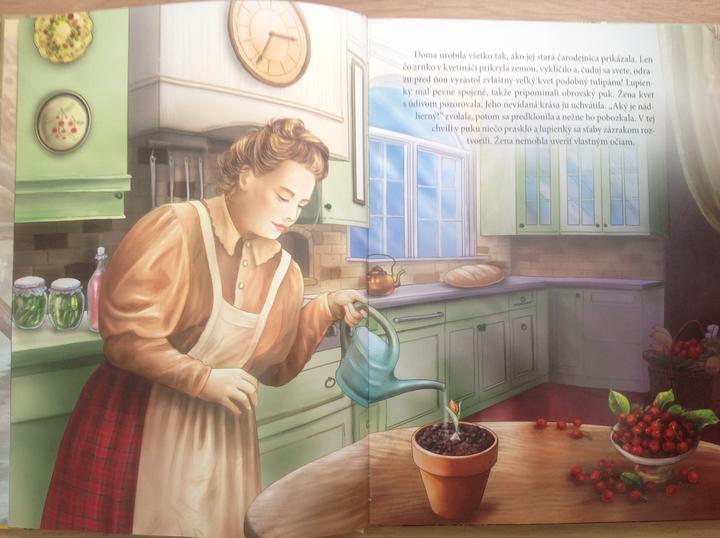 Palculienka Hans Christian Andersen